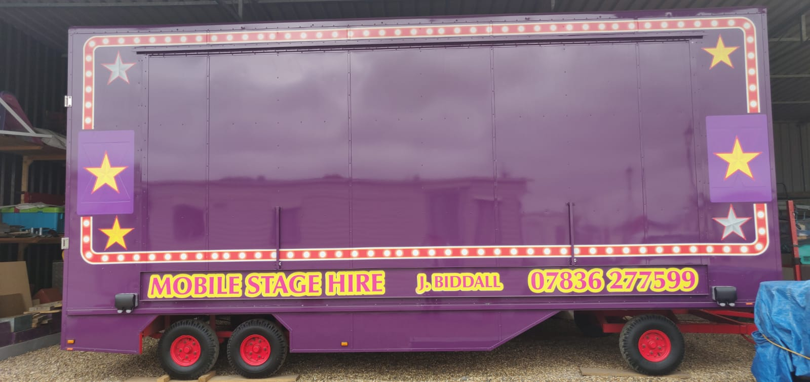 Stage Hire Hampshire